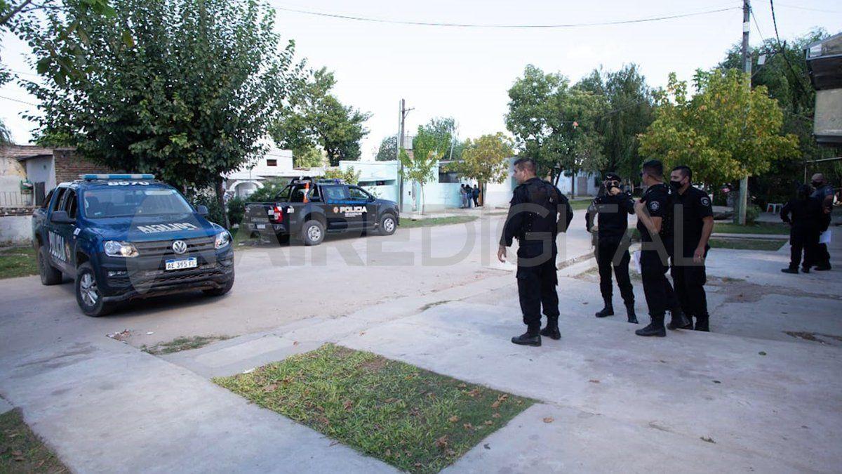 El barrio Villa del Parque quedó consternado ante la balacera letal.