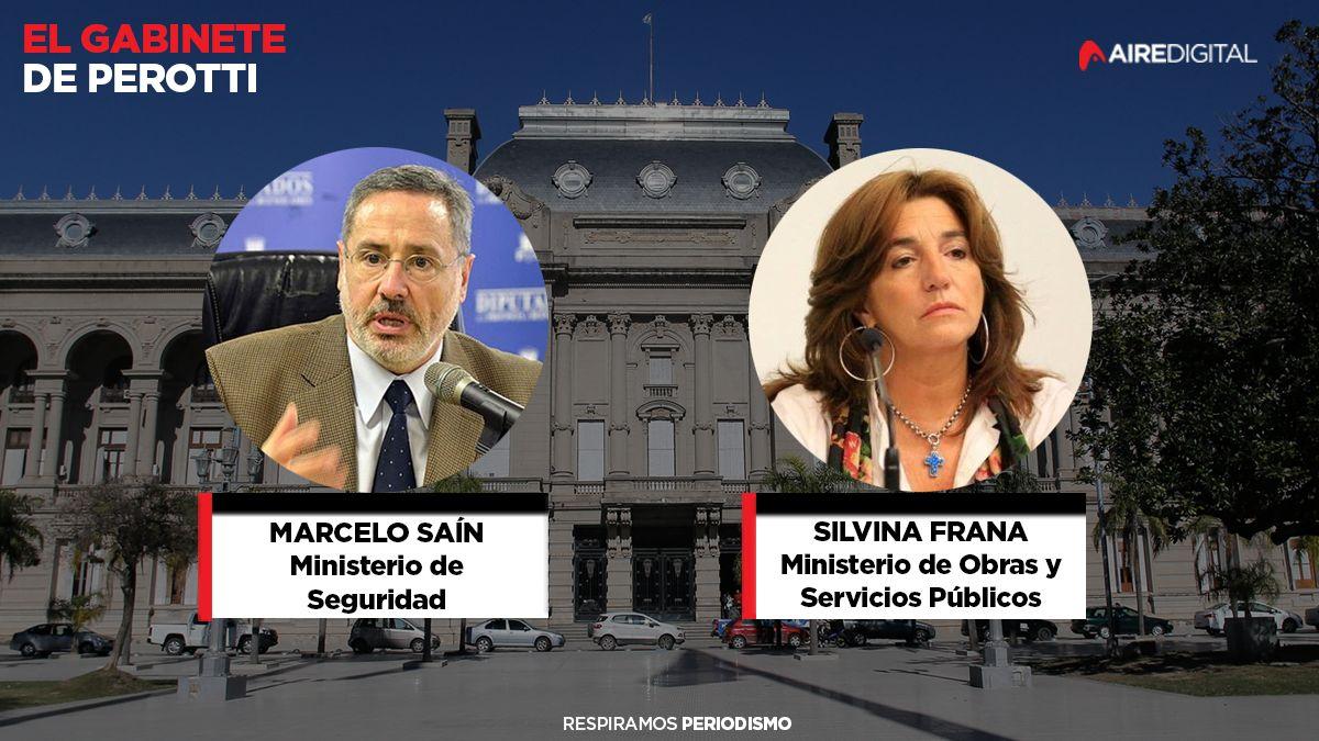 Confirmado: Saín será ministro de Seguridad y Frana la superministra de Obras y Servicios