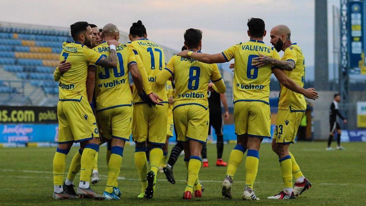 El ex Unión anotó un tanto en la victoria del Asteras Tripolis ante el Larissa por la Superliga griega.
