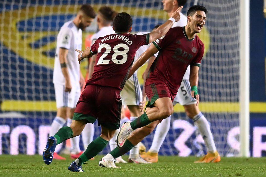 El Leeds de Bielsa cayó ante el Wolverhampton por 1 a 0 en la quinta fecha de las Premier League.