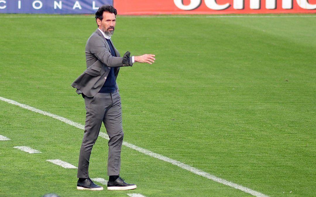 Eduardo Domínguez habló luego del empate entre Colón y Arsenal y confía en que el equipo se repondrá de este momento.