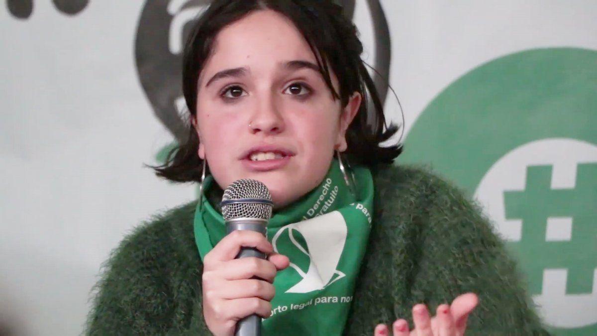 La euforia de Ofelia Fernández tras la legalización del aborto