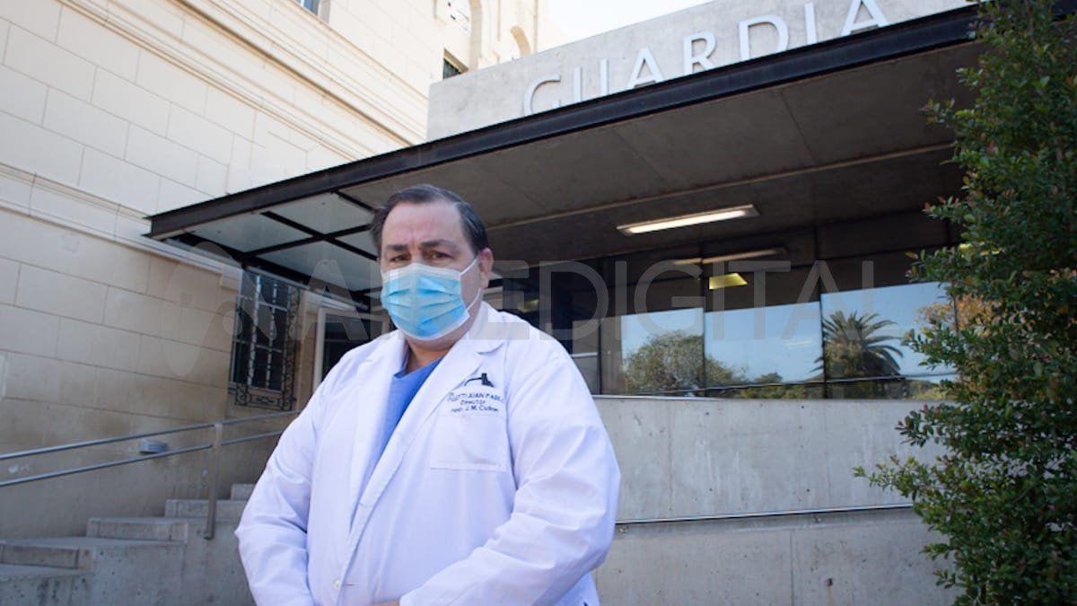 Juan Pablo Poletti, director del Hospital José María Cullen de Santa Fe.