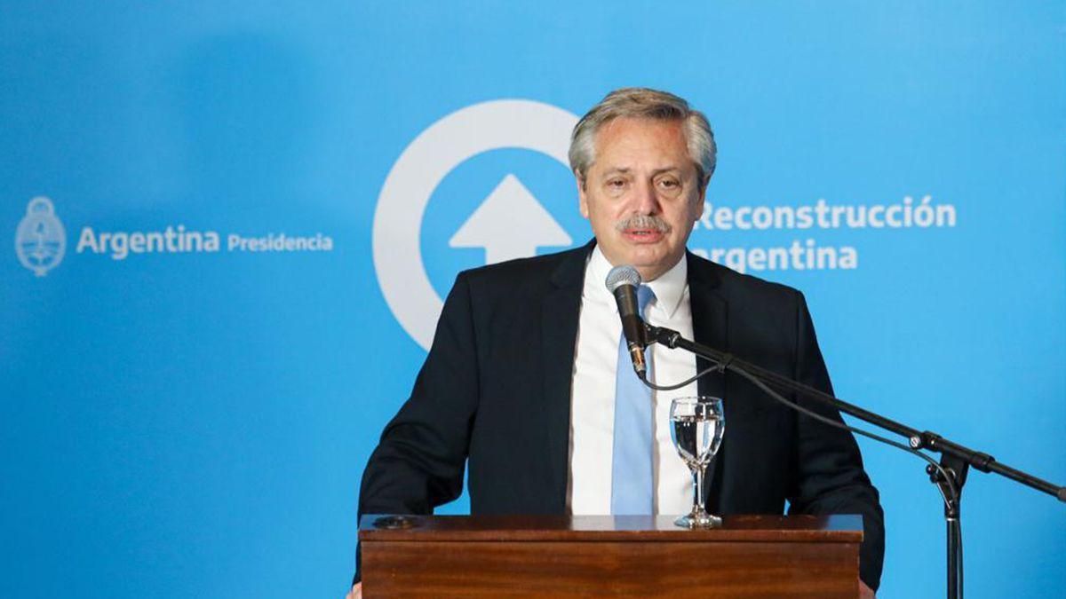 El PresidenteAlberto Fernándezdijo este martes en San Juan que el Gobierno analiza la creación de unfondo de asistencia a las provinciasen 2021