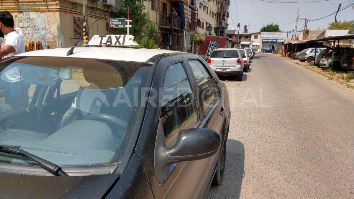 Le robaron a un taxista en Alto Verde cuando ayudaba a la pasajera a bajar un televisor