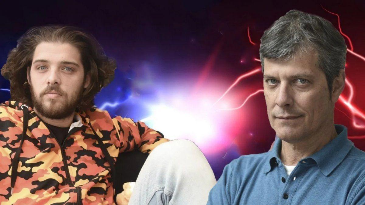 Santi Maratea vs ¿Mario Pergolini?: el influencer lanzó un duro mensaje y se despidió de su programa en Vorterix