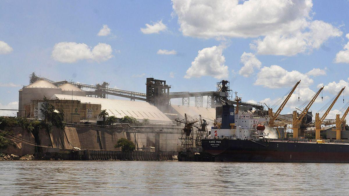Puerto de la empresa Vicentin