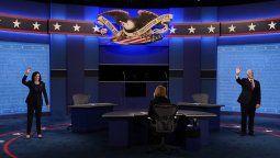 El vicepresidente de Estados Unidos, Mike Pence, y la demócrata Kamala Harris, debatieron este miércoles a la noche de cara a las elecciones del próximo 3 de noviembre en Estados Unidos. Hubo elogios y fuertes desacuerdos.