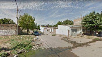 Cercanías de Lavalle y Azcuénaga, lugar del homicidio.