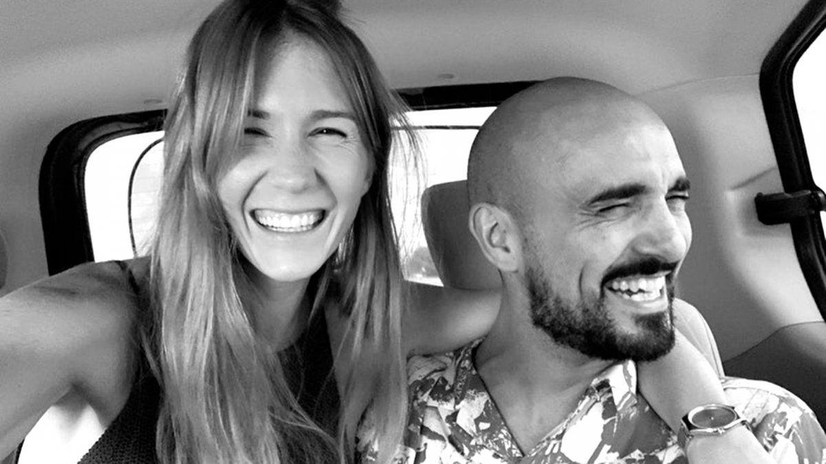 Abel Pintos mostró por primera vez la panza de su novia embarazada