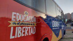 A partir del 15 de marzo, el gobierno provincial abonará el costo del boleto a estudiantes de nivel inicial, primario, secundario, terciario y universitario.