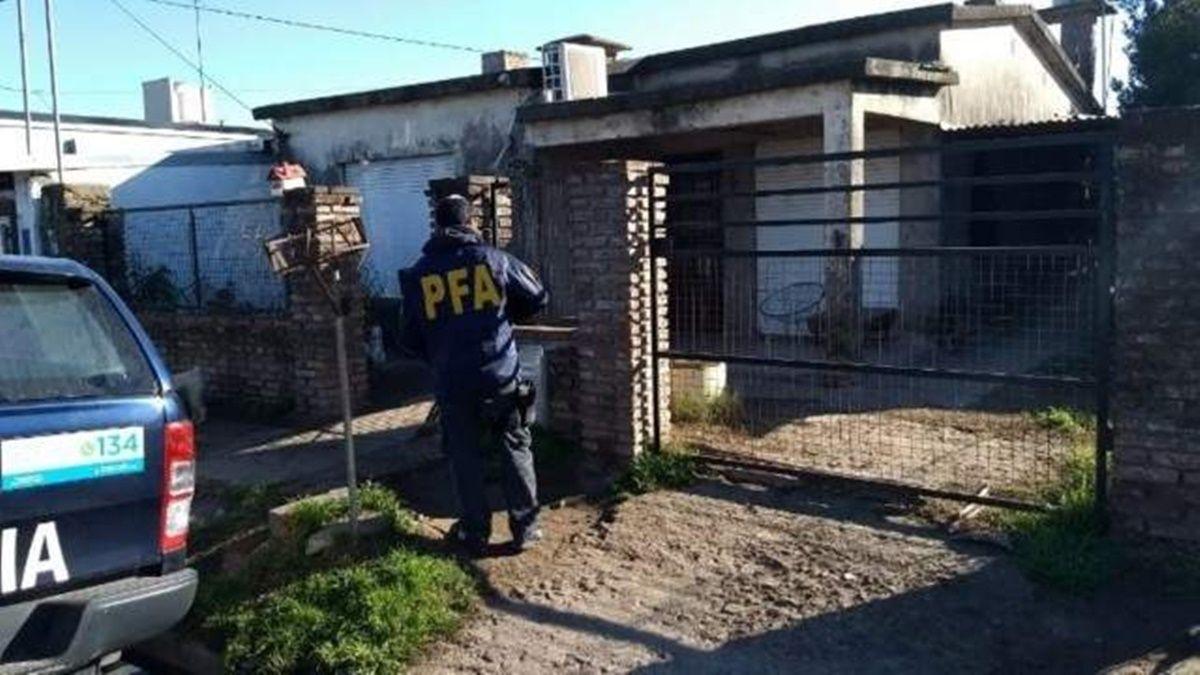 Se realizaron varios allanamientos en inmuebles de la ciudad de Frontera