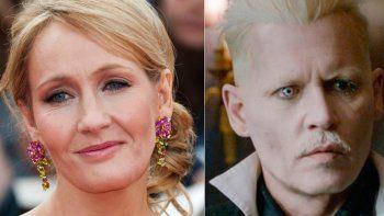 Así reaccionó J.K. Rowling tras el despido de Johnny Depp