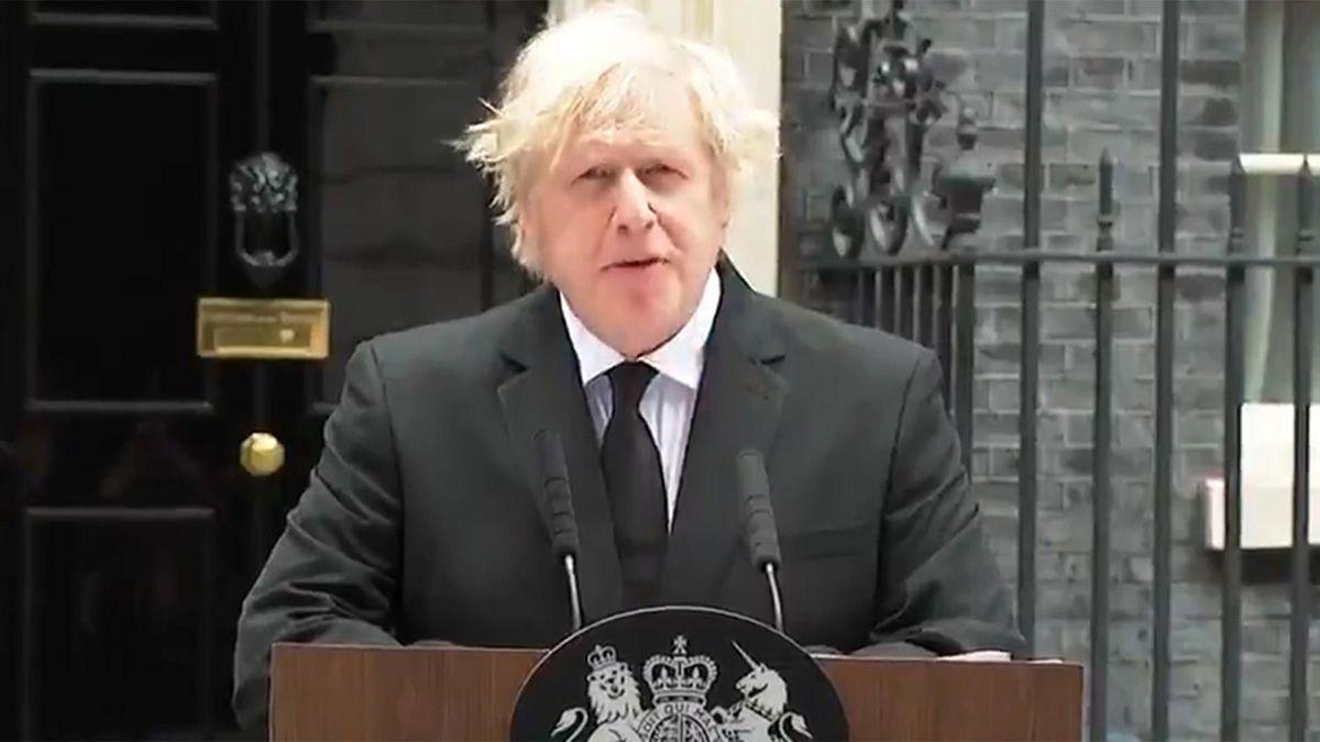 El primer ministro del Reino Unido despidió al príncipe Felipe esye viernes.