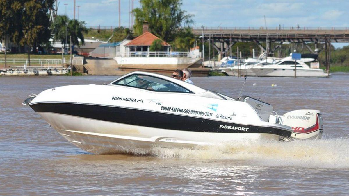 La náutica recreativa es una de las actividades que no tiene habilitación de la Provincia.