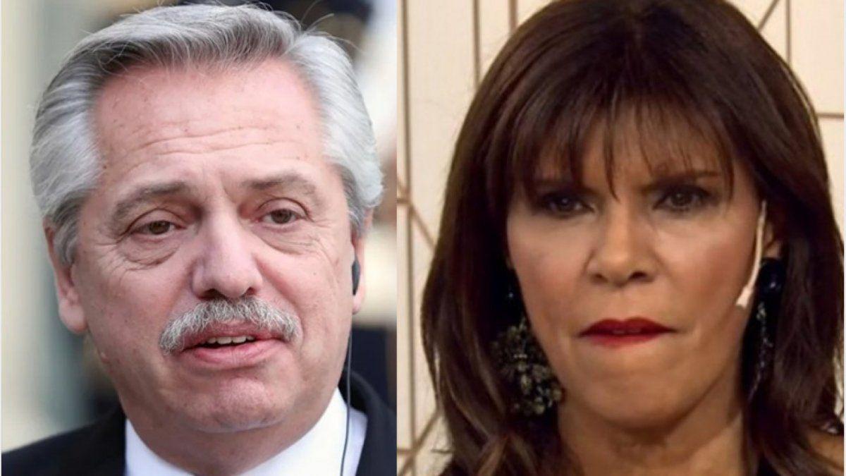 Anamá Ferreira más furiosa que nunca con el presidente Alberto Fernández.