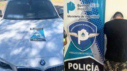 Andrés Bracamonte fue detenido este martes a la tarde en la autopista a Buenos Aires, a la altura de San Nicolás, acusado de ser uno de los atacantes de Matías Montín.