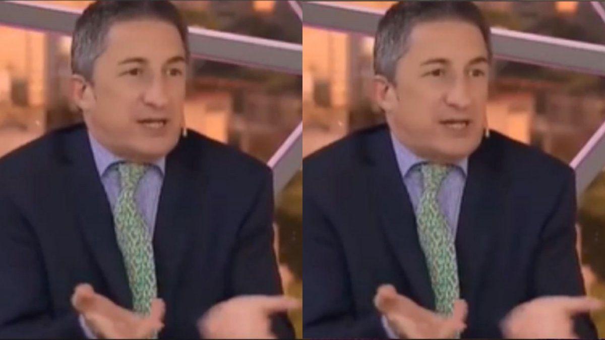 Adrián Ventura estalló de bronca
