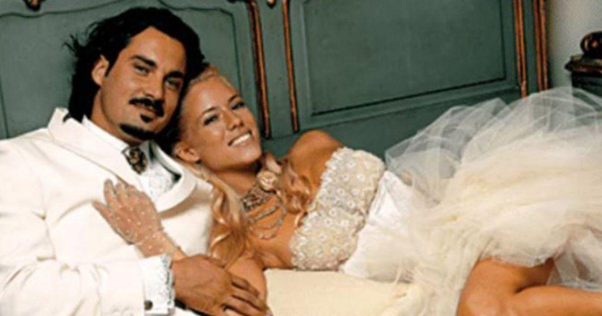 Nacho Herrero y Nicole Neumann se casaron en 2005.