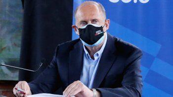 El gobernador Omar Perotti realizó anuncios sobre apertura y restricciones de actividades.