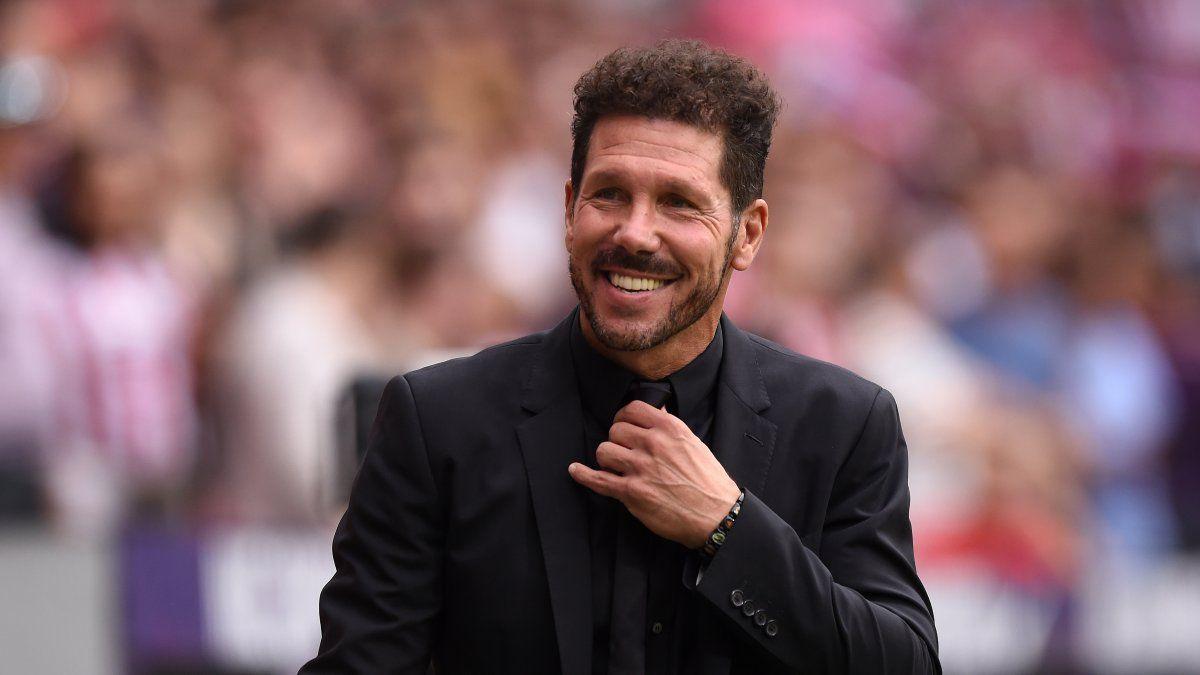 Diego Simeone fue elegido como el mejor entrenador de la última década.