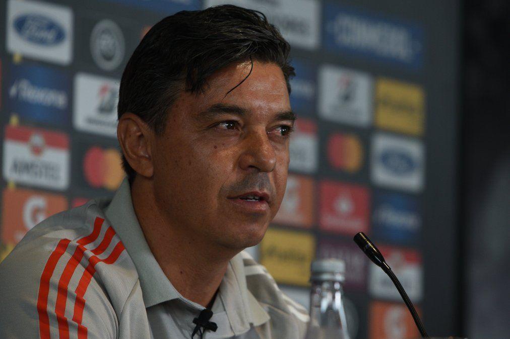Marcelo Gallardo asegura que River no está en crisis en la previa a la revancha por semifinales de la Copa Libertadores ante Palmeiras.