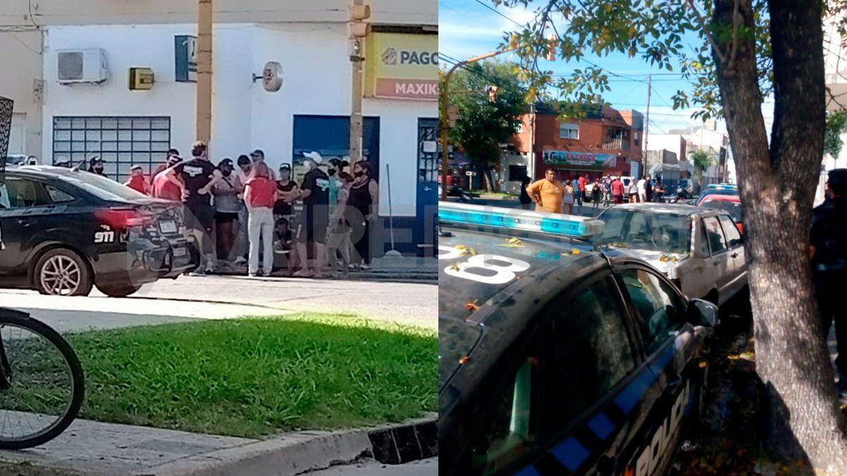 Tensión frente a la comisaría 5° por el secuestro de un caballo