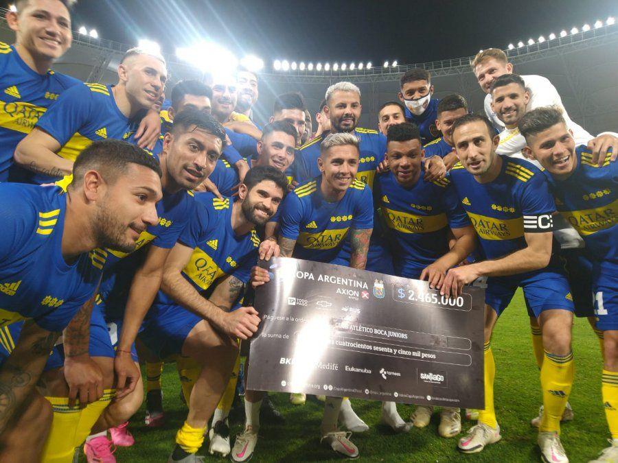 Copa Argentina: Boca venció por penales a Patronato y está en semifinales