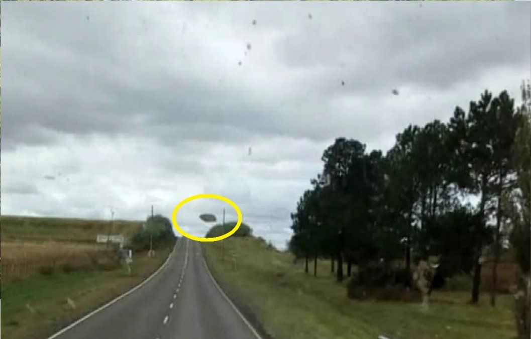 Un camionero dice que fotografió OVNIs en Córdoba
