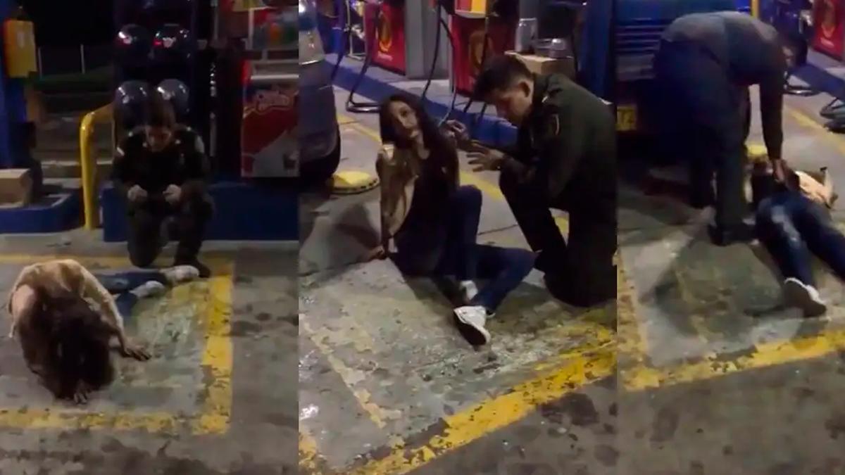 Policía realizó un supuesto exorcismo a mujer