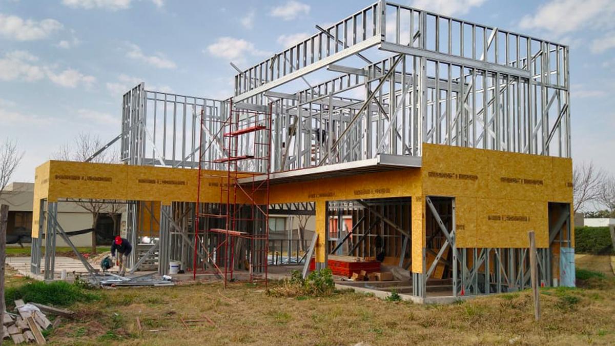 Desde hace cinco años Disser es especialista en steel frame en la región y cuenta con un centro de capacitación propio.