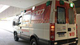 La víctima fue trasladada en una unidad del 107 al hospital Iturraspe donde se le realzaron las primeras atenciones de urgencia en el shockroom, para luego ser derivado al hospital Cullen.