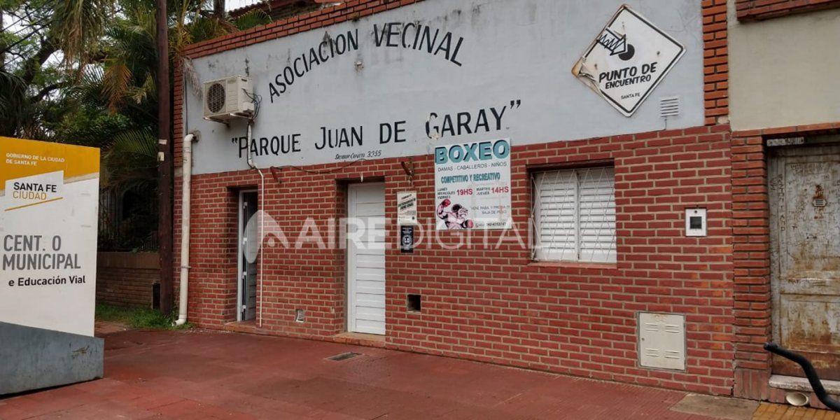 Por las deudas de la gestión Corral, en la vecinal Parque Juan de Garay resolvieron desalojar la oficina municipal que allí funciona