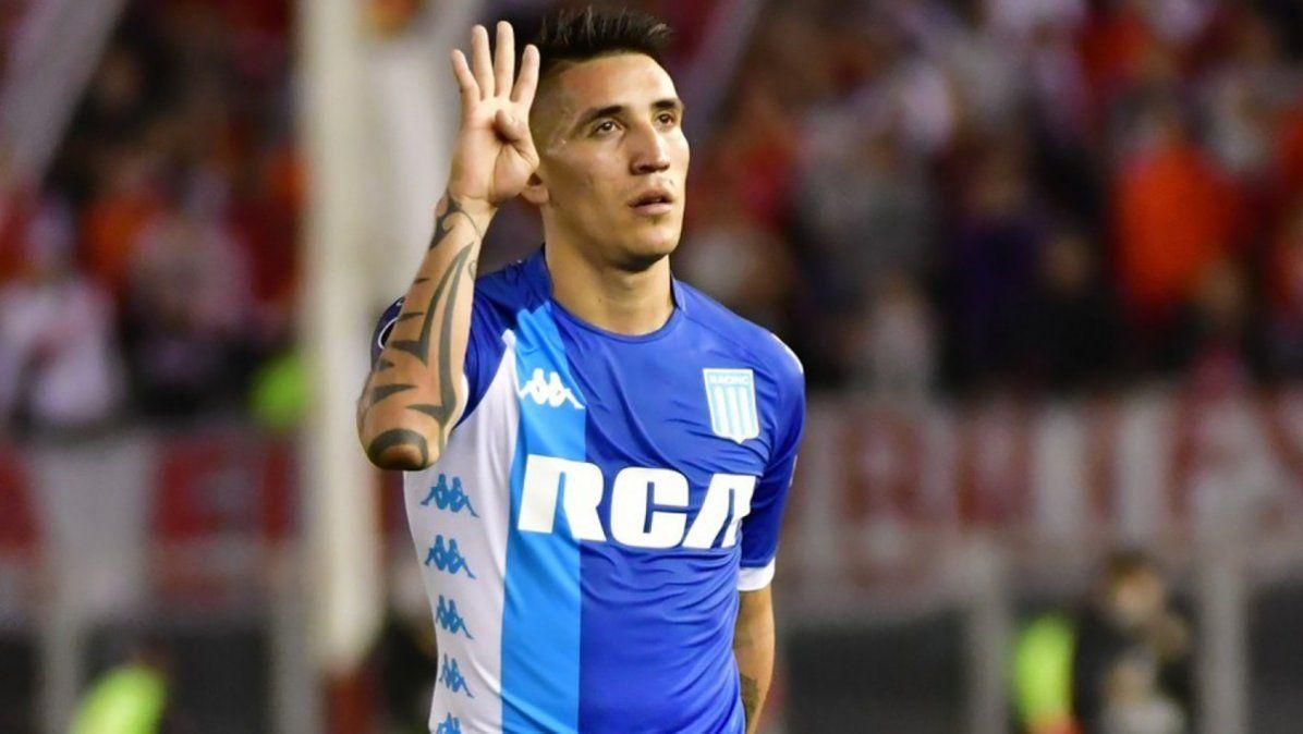 Ricky Centurión, muy cerca de jugar en Vélez