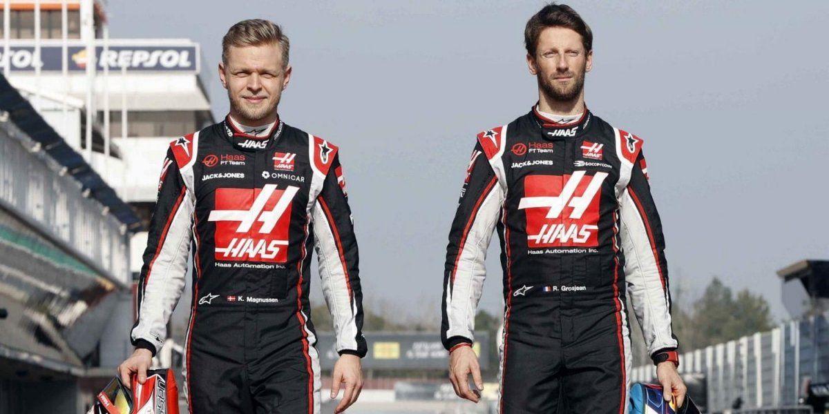Romain Grosjean t Kevin Magnussen no correrán en Haas la próxima temporada de la Fórmula 1.