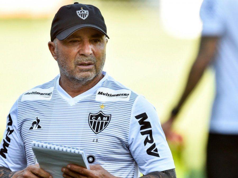 Jorge Sampaoli se despidió de Atlético Mineiro para convertirse en entrenador del Marsella de Francia.