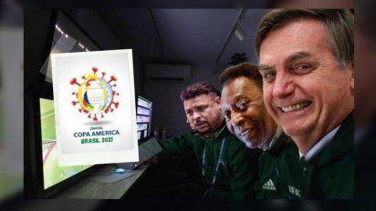 La Copa América se realizará en Brasil y ardieron las redes sociales