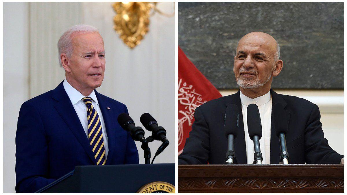 Biden recibirá al presidente de Afganistán y al principal negociador con los talibanes
