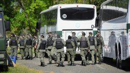 Esta tarde llegaron a Rosario los agentes federales enviados por el gobierno nacional.