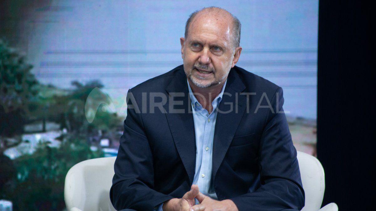 El gobernandor Omar Perotti retomará su agenda habitual en las próximas 48 horas.