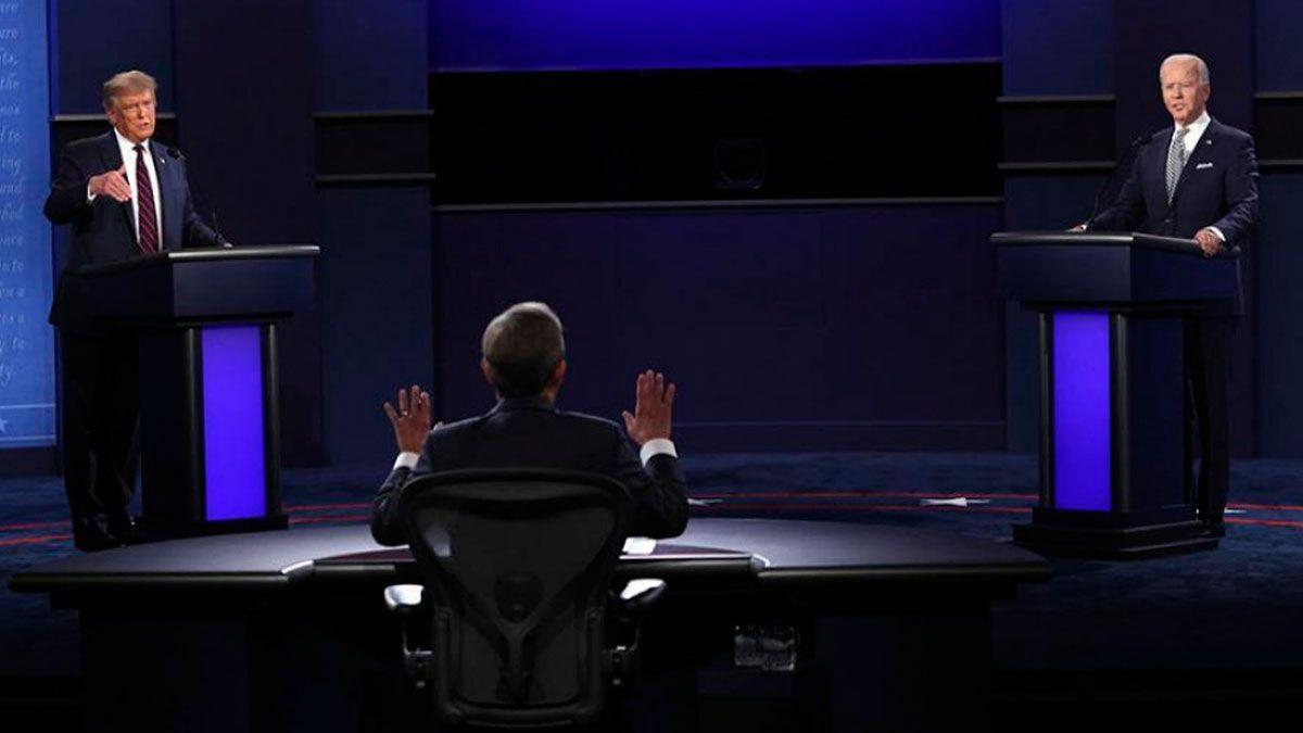 Donald Trump y Joe Biden se juegan la presidencia de Estados Unidos.