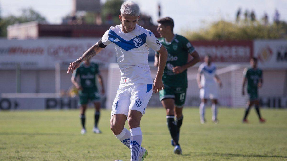Vélez venció 2-1 a Sarmiento de Junín en la segunda fecha de la Copa de la Liga.