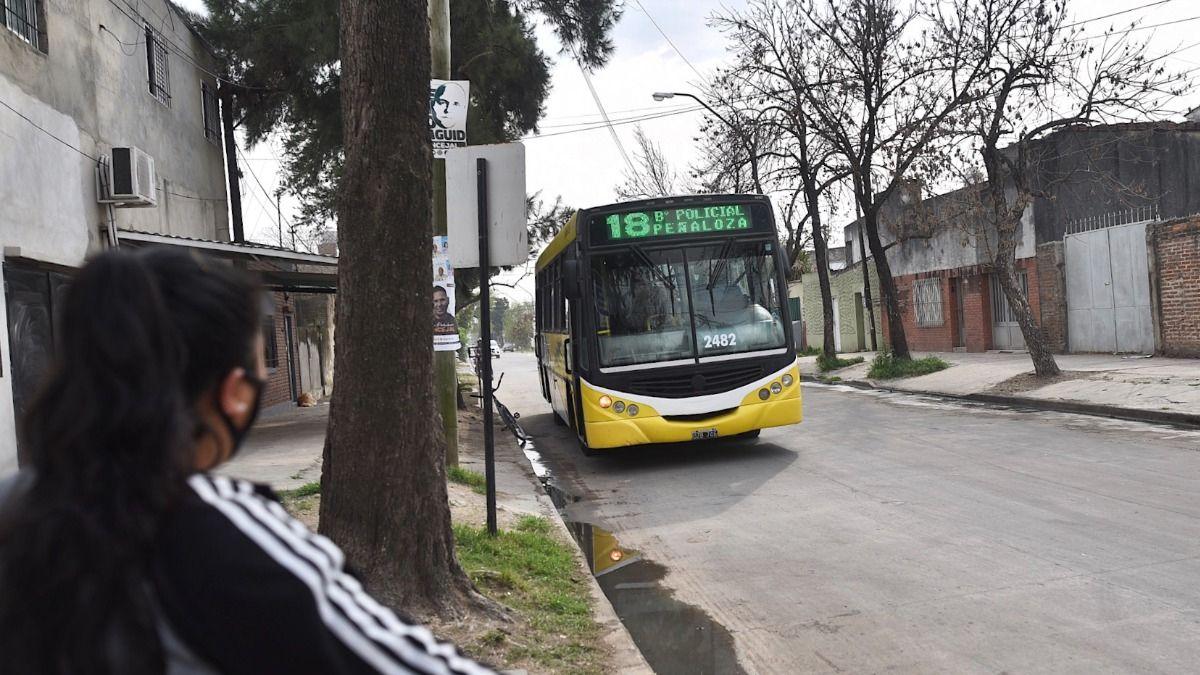 La línea 18 retoma el recorrido en el barrio Santa Rosa de Lima