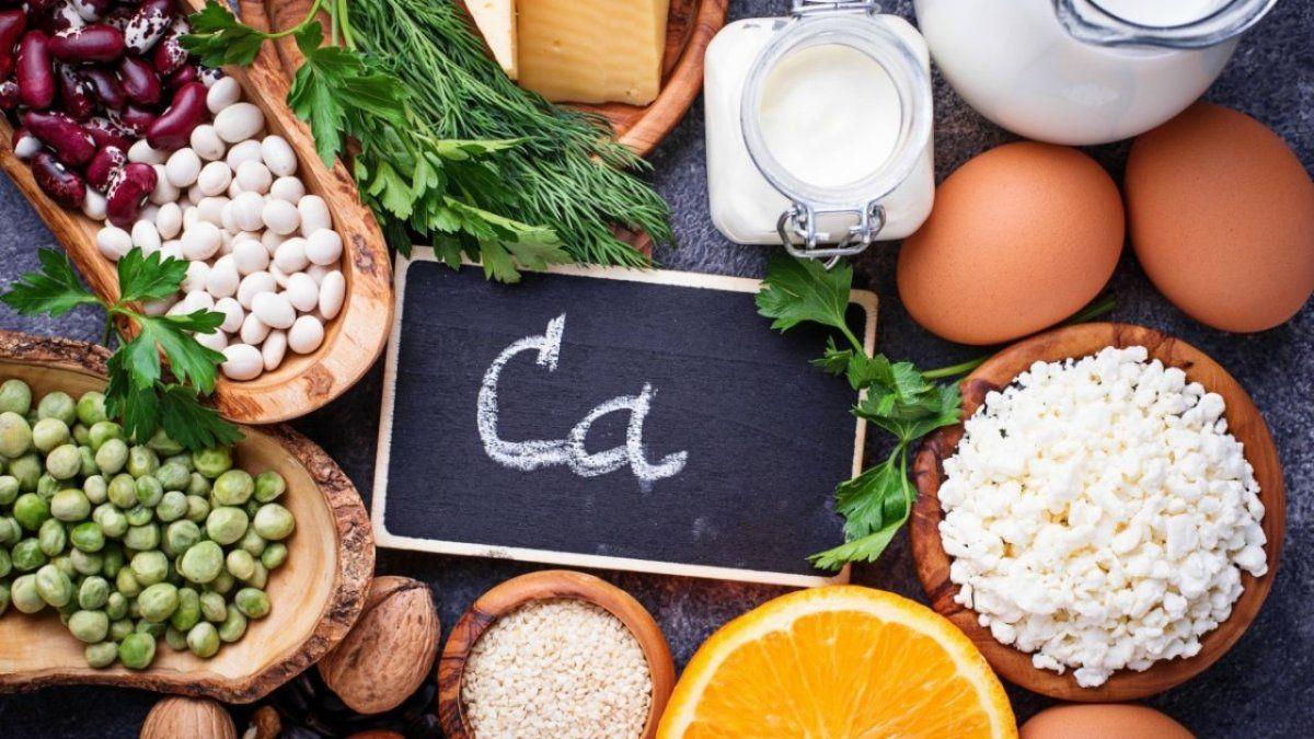 Alimentos que pueden ayudar a mantener en el organismo los niveles apropiados de calcio.