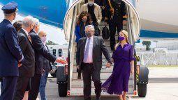 El presidente Alberto Fernández arribó este domingo por la mañana a Lisboa, la capital de Portugal, para dar comienzo a su gira europea, la cual se extenderá hasta el viernes.