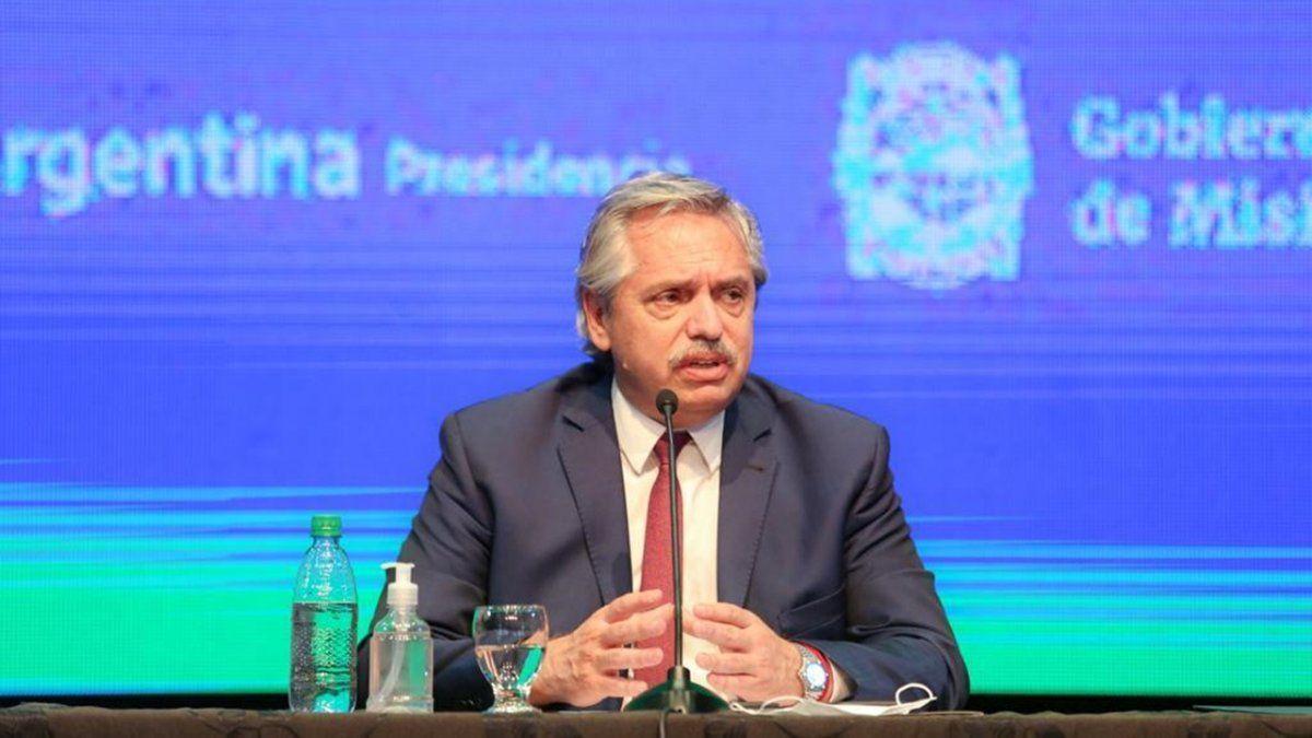 Alberto Fernández aseguró que no es intención del Gobierno que el peso pierda valor más allá del ritmo de la inflación.