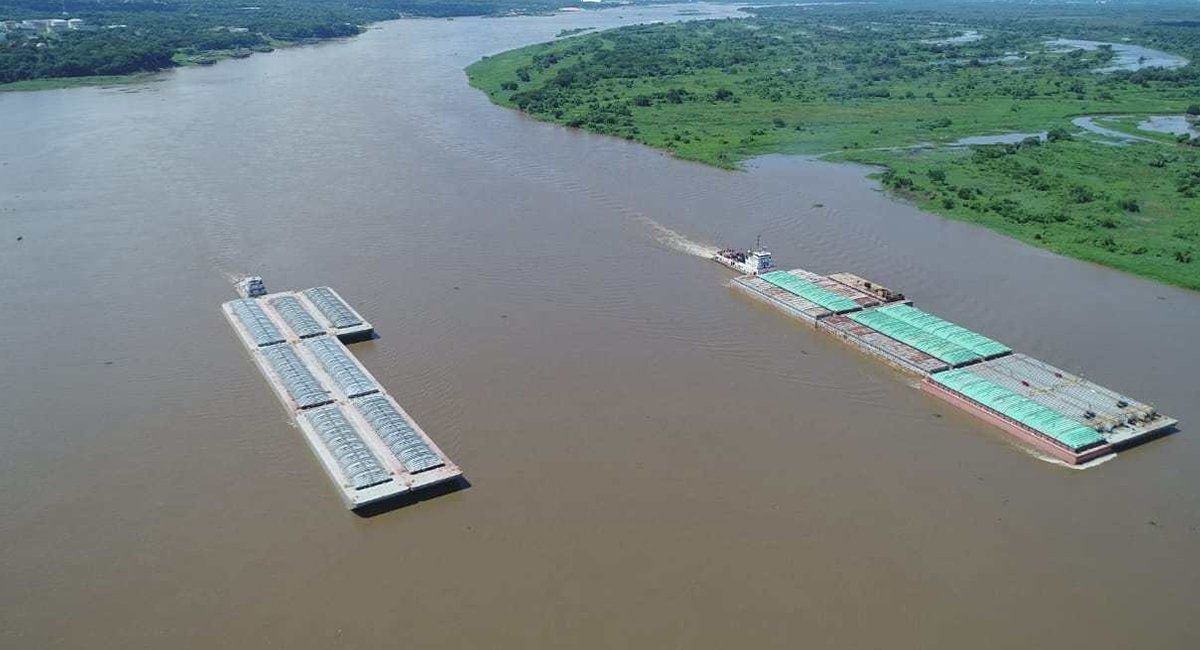 La hidrovía Paraná-Paraguay es uno de los caminos de ingreso de la droga a la Argentina.
