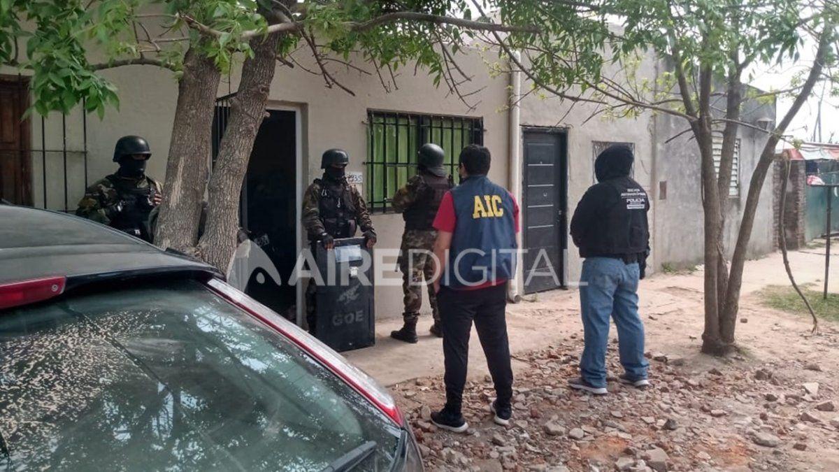 Tras un allanamiento por drogas, detuvieron al Chino de barrio Pompeya