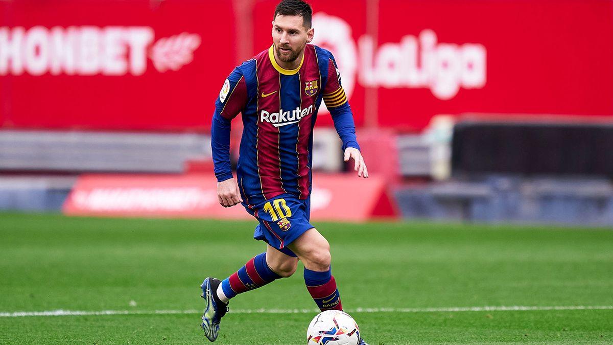 El Barcelona de Messi le ganó a Osasuna y le mete presión a Atlético de Madrid