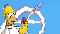 altText(Los Simpson predijeron al cohete chino y su final)}